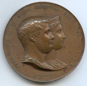 Nascita di Francesco da Ferdinando II di Borbone e Maria Cristina di Savoia