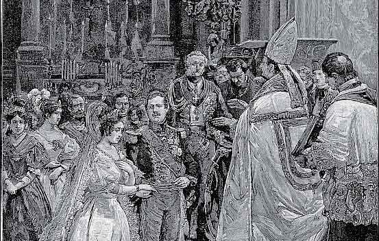 Nozze di Ferdinando II di Borbone con Maria Cristina di Savoia