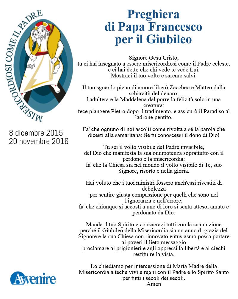 Giubileo la preghiera di papa francesco una casa sulla for Schierandosi dalla roccia in casa