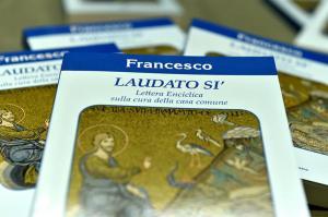 """Roma 18-6-2015 Conferenza stampa di presentazione dell' Enciclica di Papa Francesco """" Laudato si"""" Ph: Cristian Gennari/Siciliani"""