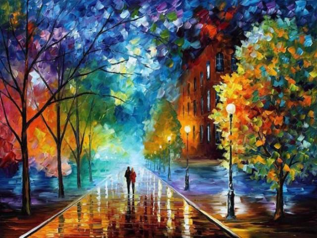 dipinti-olio-impressionismo-paesaggi-autunno-leonid-afremov-01-700x525