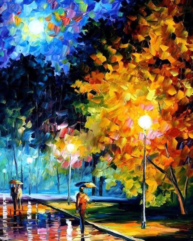 dipinti-olio-impressionismo-paesaggi-autunno-leonid-afremov-05-700x875