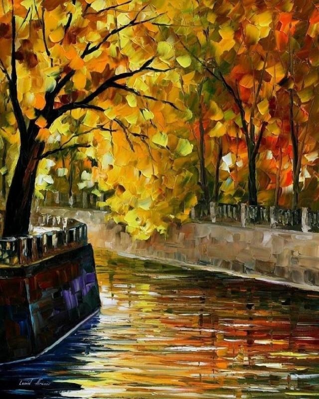 dipinti-olio-impressionismo-paesaggi-autunno-leonid-afremov-15-700x874