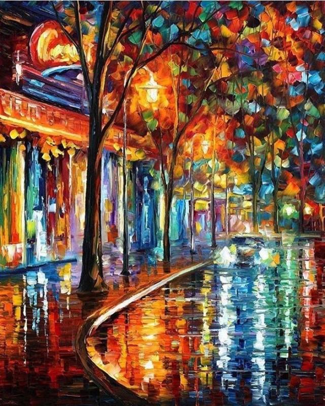 dipinti-olio-impressionismo-paesaggi-autunno-leonid-afremov-17-700x874
