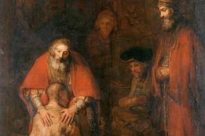 Il Figliol Prodigo, Rembrandt Van Rijn / Wikimedia Commons - Hermitage Torrent, Public Domain